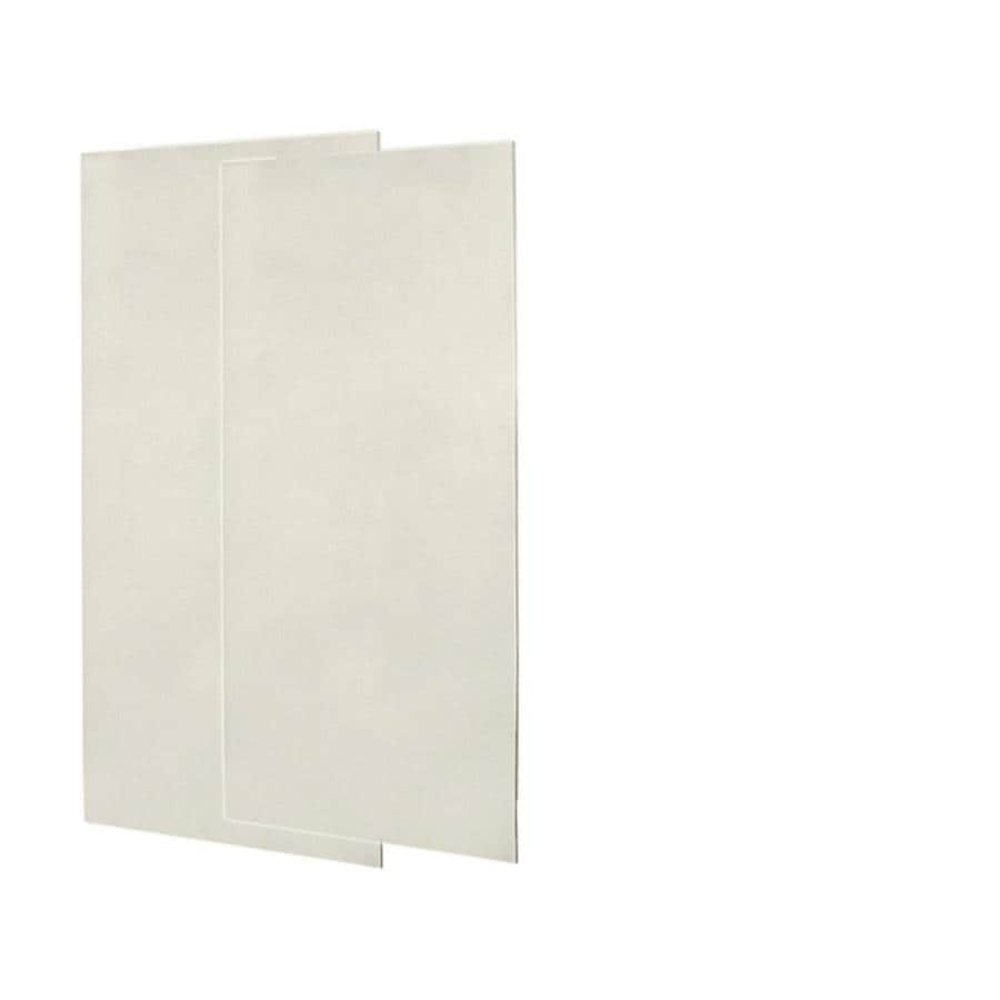 Swanstone Glacier Shower Wall Surround Back Panel (Common: 0.25-in; Actual: 72-in x 0.25-in)