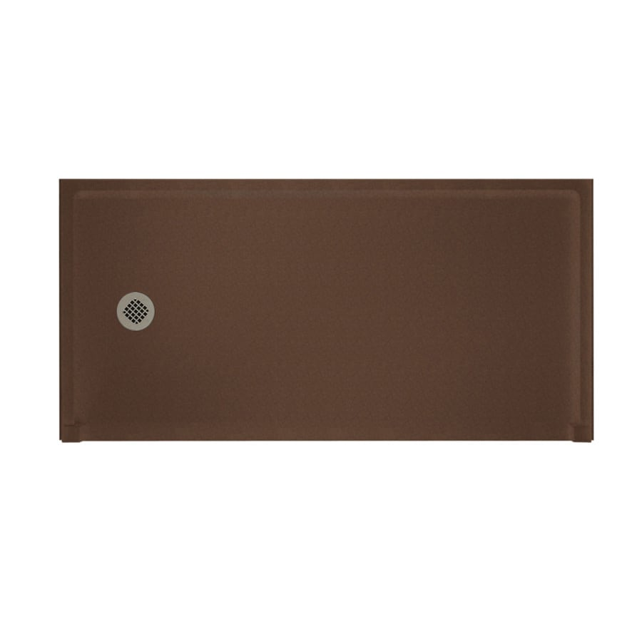 Swanstone Acorn Solid Surface Shower Base (Common: 30-in W x 60-in L; Actual: 30-in W x 60-in L)
