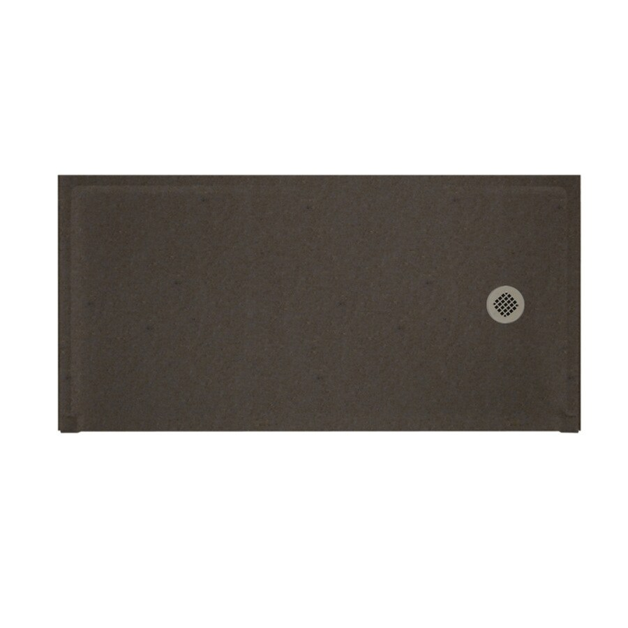 Swanstone Canyon Solid Surface Shower Base (Common: 30-in W x 60-in L; Actual: 30-in W x 60-in L)