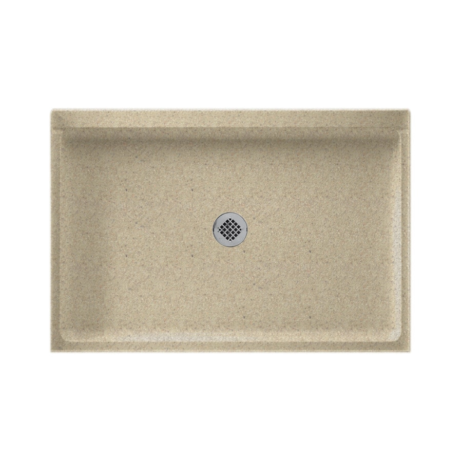 Swanstone Prairie Solid Surface Shower Base (Common: 32-in W x 48-in L; Actual: 32-in W x 48-in L)