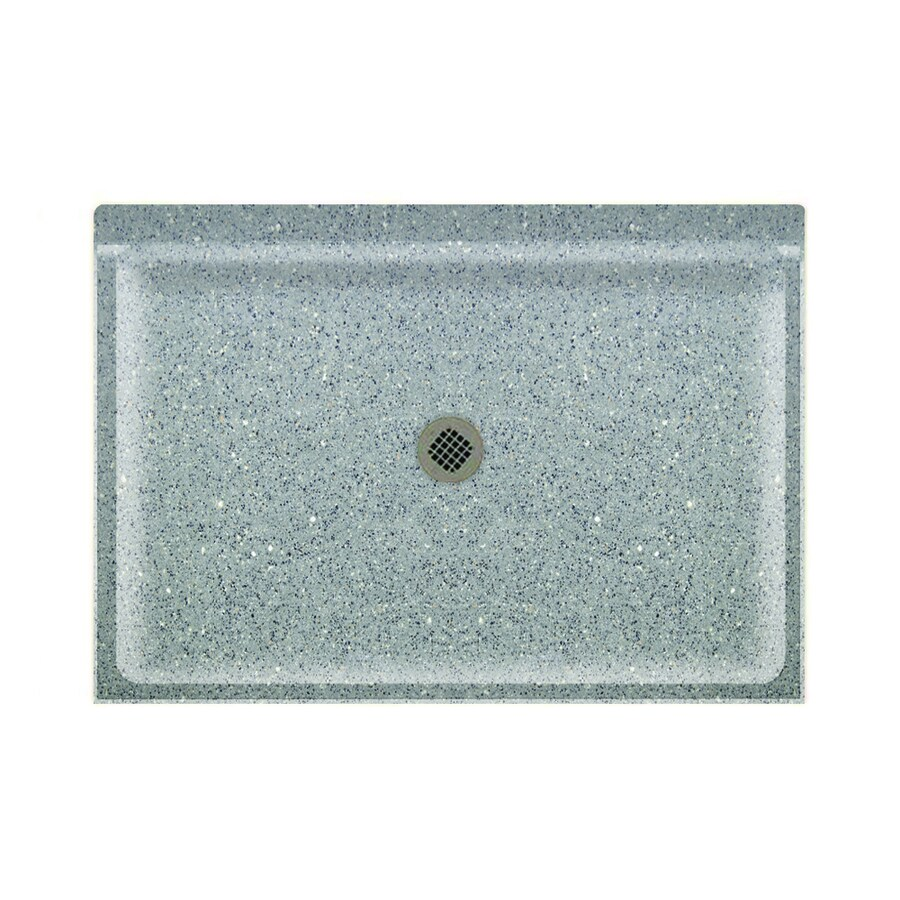 Swanstone Canyon Solid Surface Shower Base (Common: 34-in W x 48-in L; Actual: 34-in W x 48-in L)