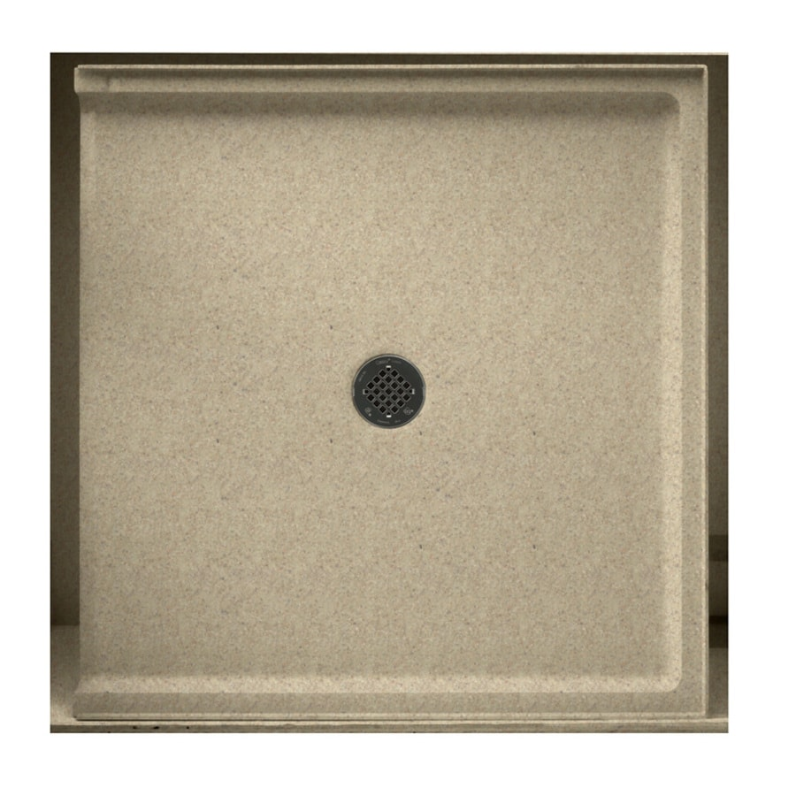 Swanstone Prairie Solid Surface Shower Base (Common: 37-in W x 38-in L; Actual: 37-in W x 38-in L)