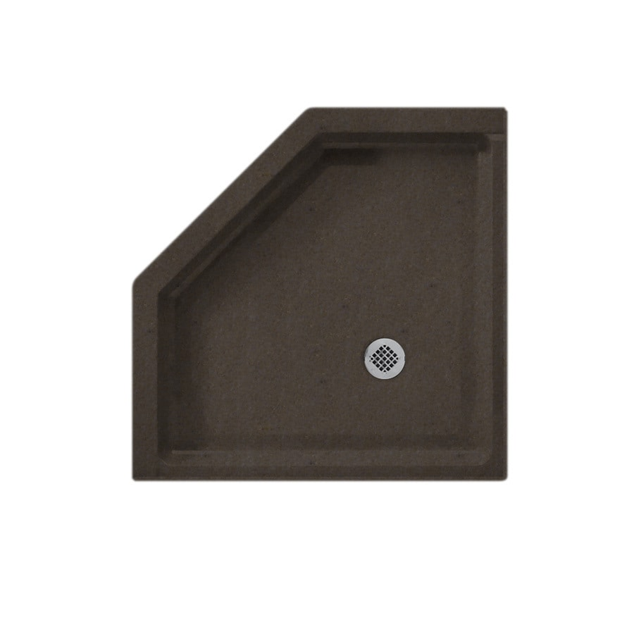 Swanstone Canyon Solid Surface Shower Base (Common: 38-in W x 38-in L; Actual: 38-in W x 38-in L)