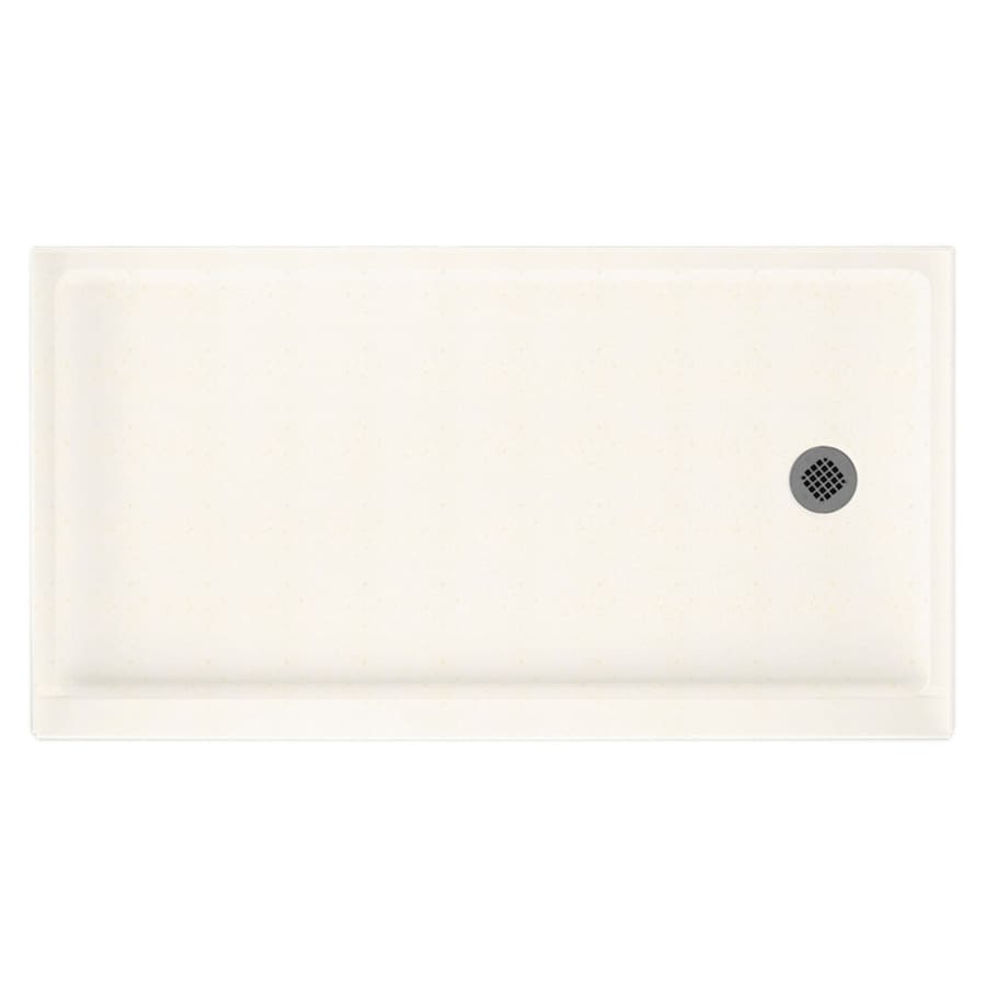 Swanstone Baby's Breath Solid Surface Shower Base (Common: 32-in W x 60-in L; Actual: 32-in W x 60-in L)