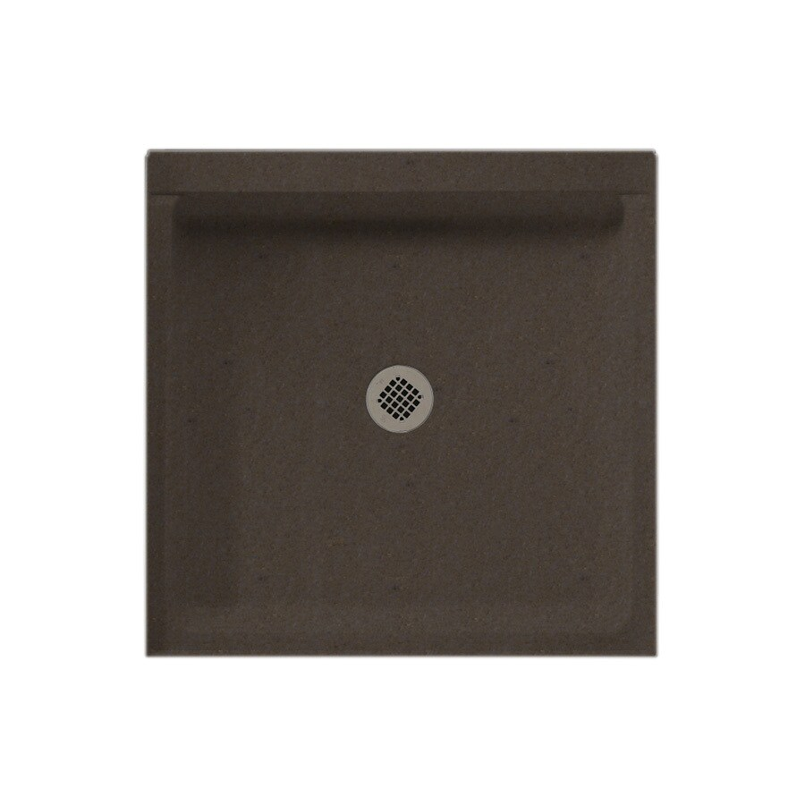 Swanstone Canyon Solid Surface Shower Base (Common: 42-in W x 36-in L; Actual: 36-in W x 42-in L)