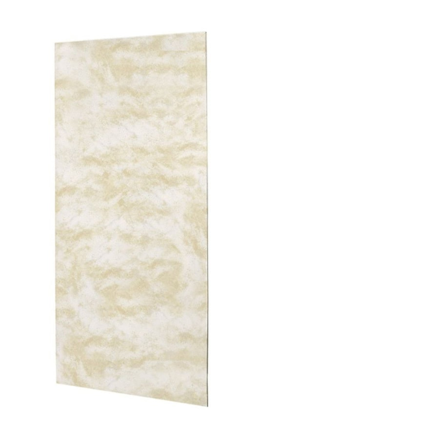 Swanstone Cloud White Shower Wall Surround Back Panel (Common: 0.25-in; Actual: 96-in x 0.25-in)