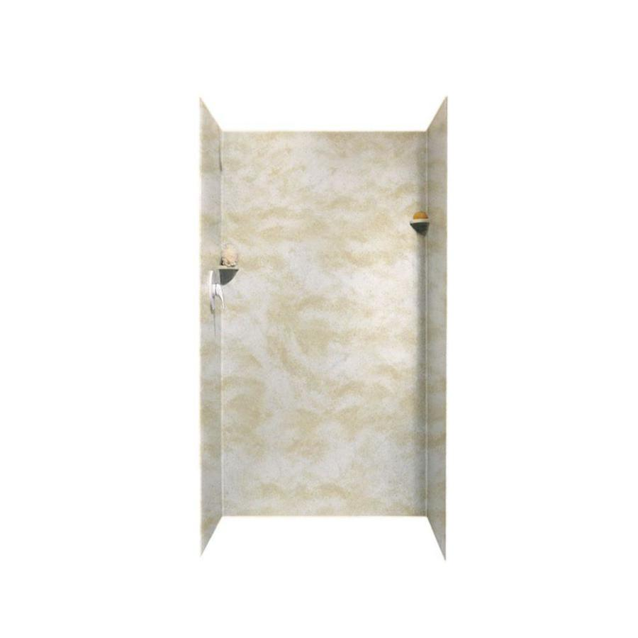 Swanstone Cloud White Shower Wall Surround Side and Back Panels (Common: 36-in; Actual: 72-in x 36-in)
