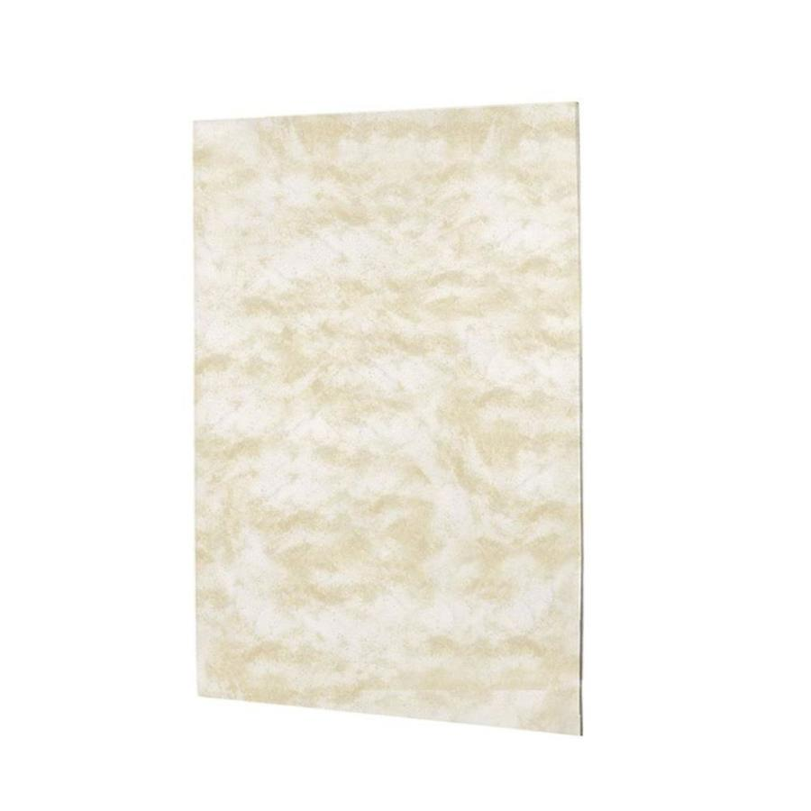 Swanstone Cloud White Shower Wall Surround Back Panel (Common: 0.25-in; Actual: 60-in x 0.25-in)