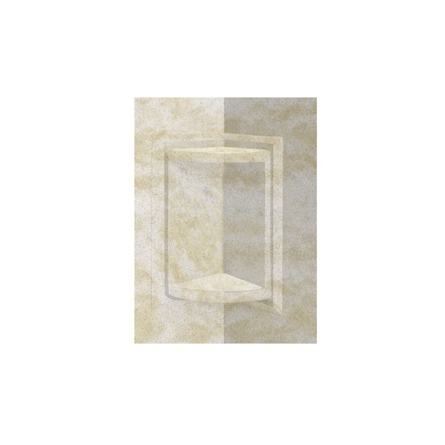 Swanstone Cloud White Shower Wall Trim Kit