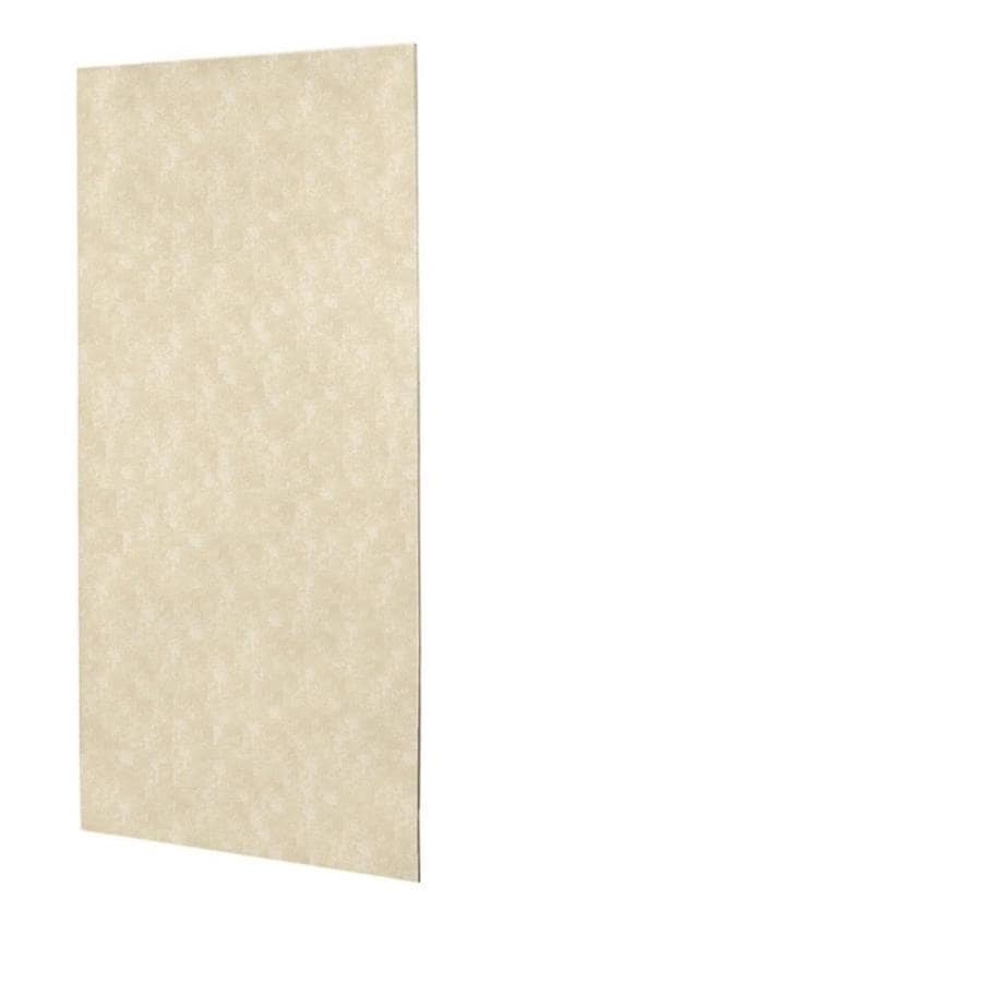 Swanstone Cloud Bone Shower Wall Surround Back Panel (Common: 0.25-in; Actual: 96-in x 0.25-in)