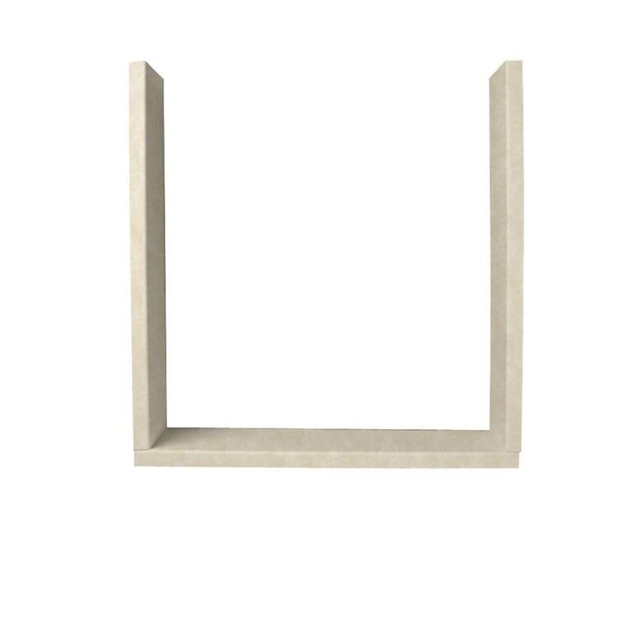 Swanstone Cloud Bone Shower Wall Window Trim Kit