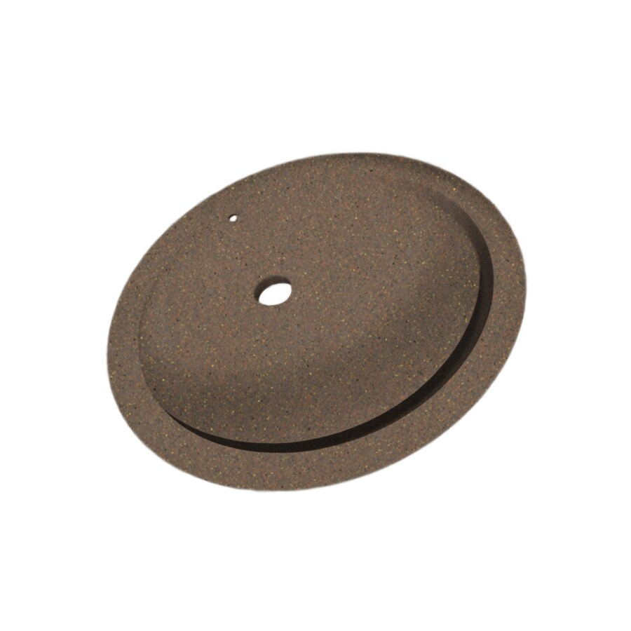 Shop Swanstone Acorn Solid Surface Undermount Oval