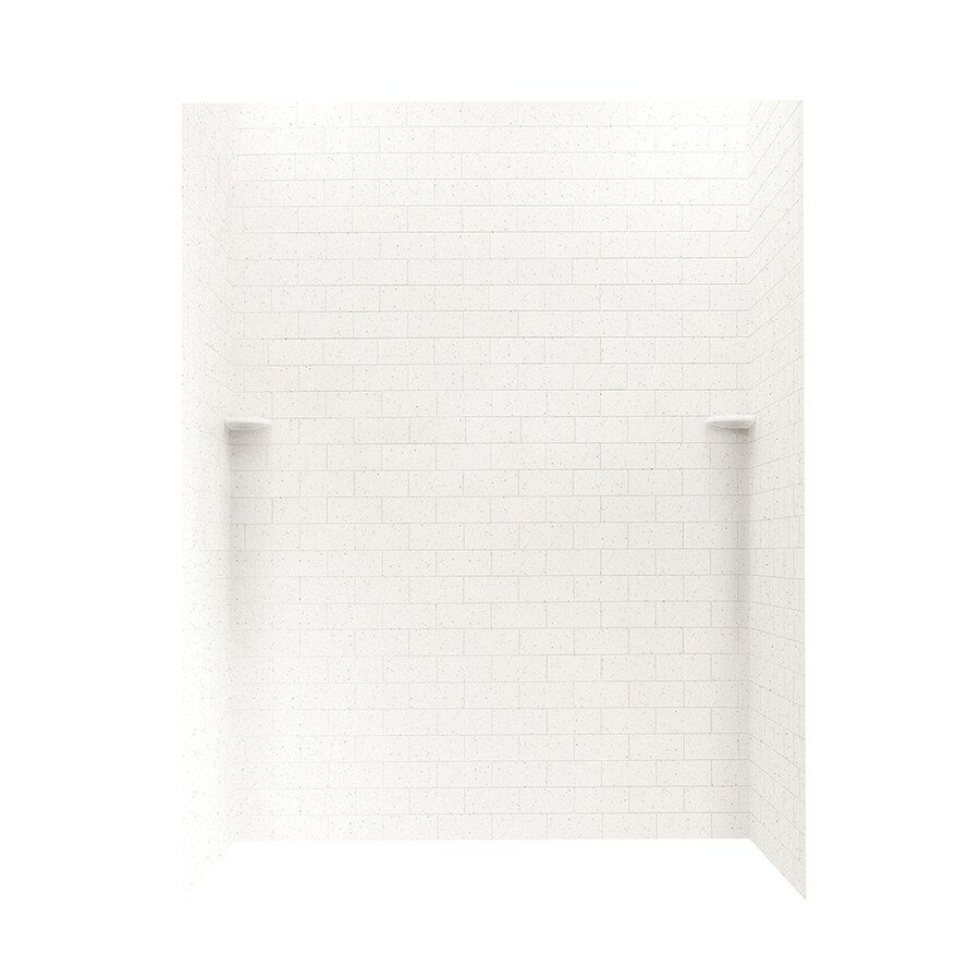 Swanstone Tahiti Matrix Shower Wall Surround Side and Back Panels (Common: 62-in; Actual: 72.5-in x 62-in)