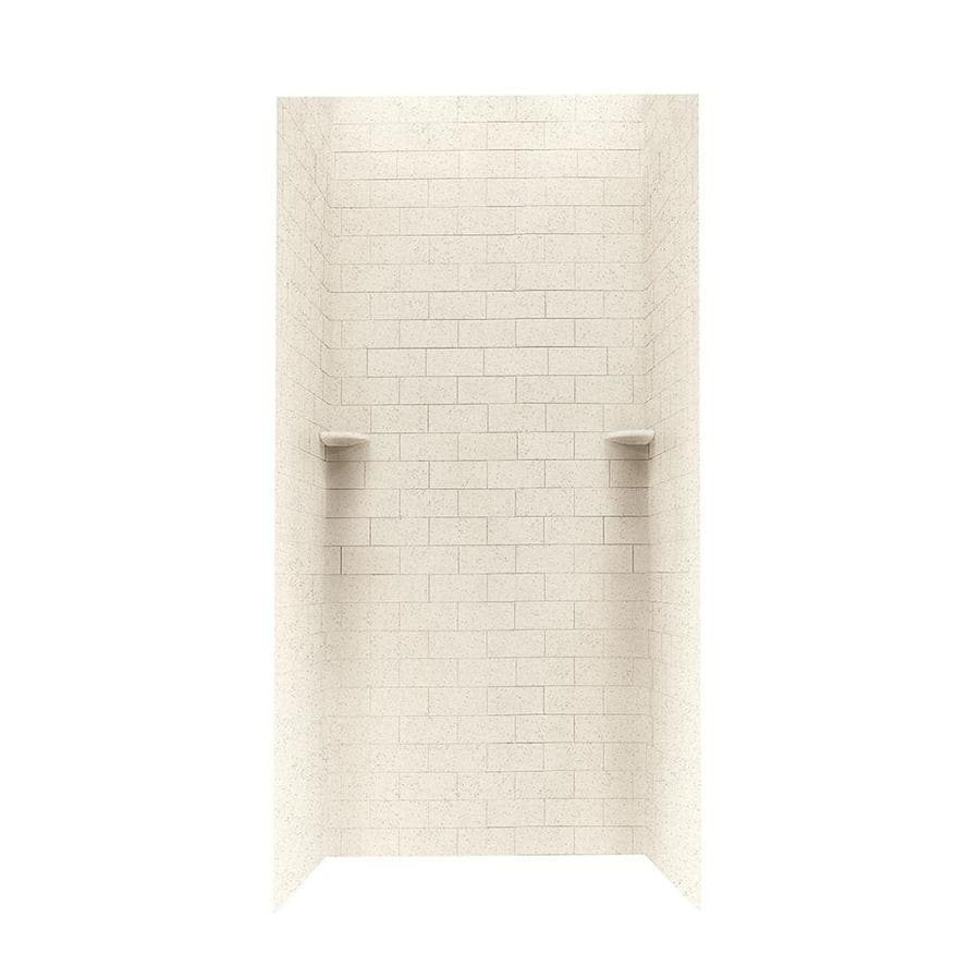 Swanstone Tahiti Desert Shower Wall Surround Side and Back Panels (Common: 36-in; Actual: 72.5-in x 36-in)