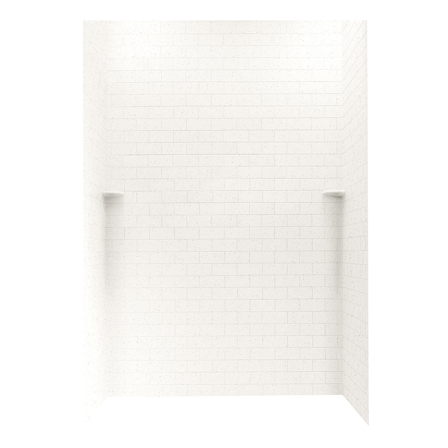 Swanstone Tahiti Matrix Shower Wall Surround Side and Back Panels (Common: 62-in; Actual: 96-in x 62-in)