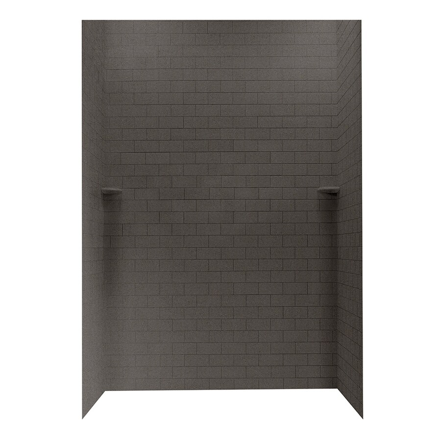Swanstone Canyon Shower Wall Surround Side and Back Panels (Common: 62-in; Actual: 96-in x 62-in)