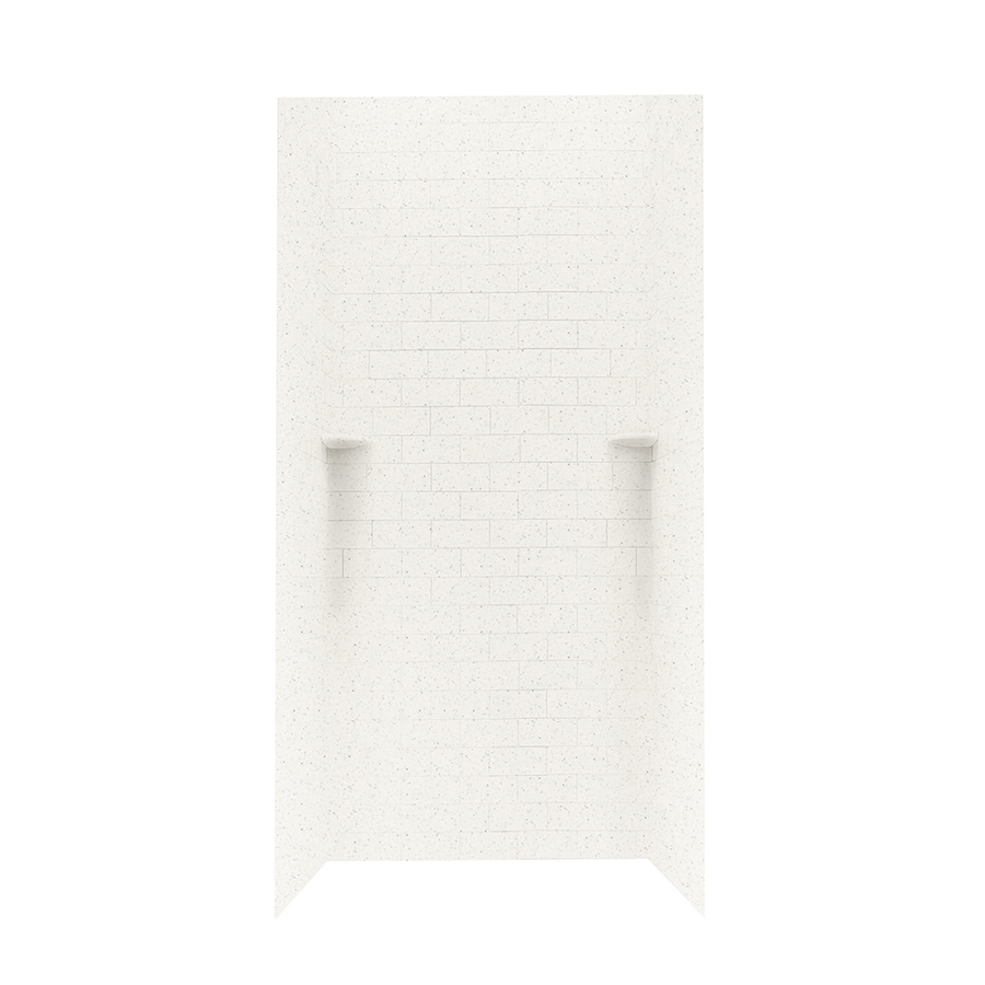Swanstone Tahiti Matrix Shower Wall Surround Side and Back Panels (Common: 36-in; Actual: 96-in x 36-in)