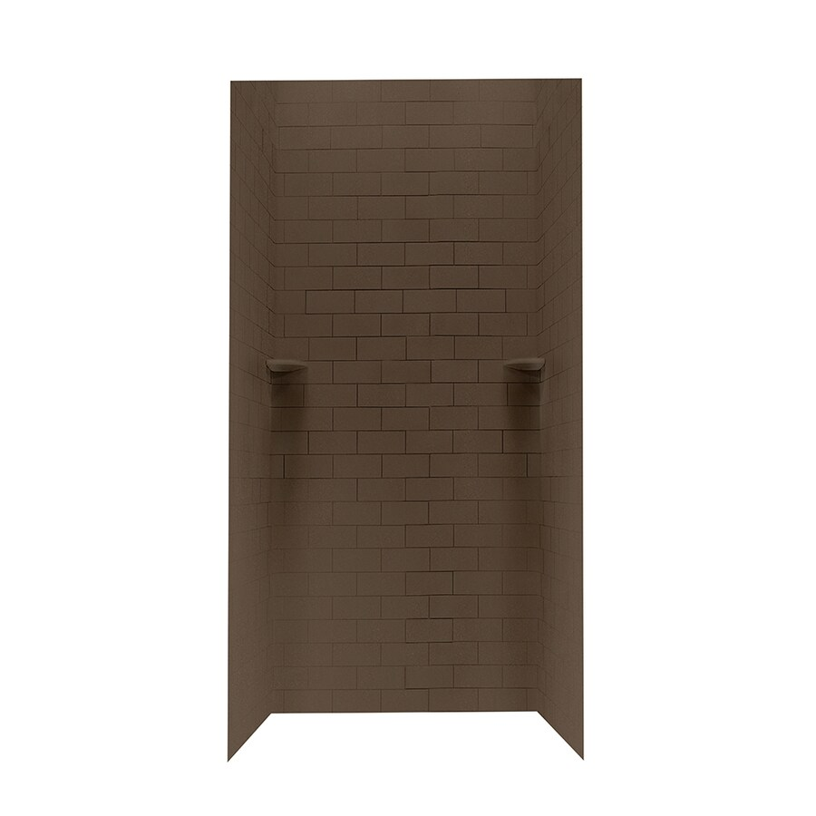 Swanstone Acorn Shower Wall Surround Side and Back Panels (Common: 36-in; Actual: 96-in x 36-in)