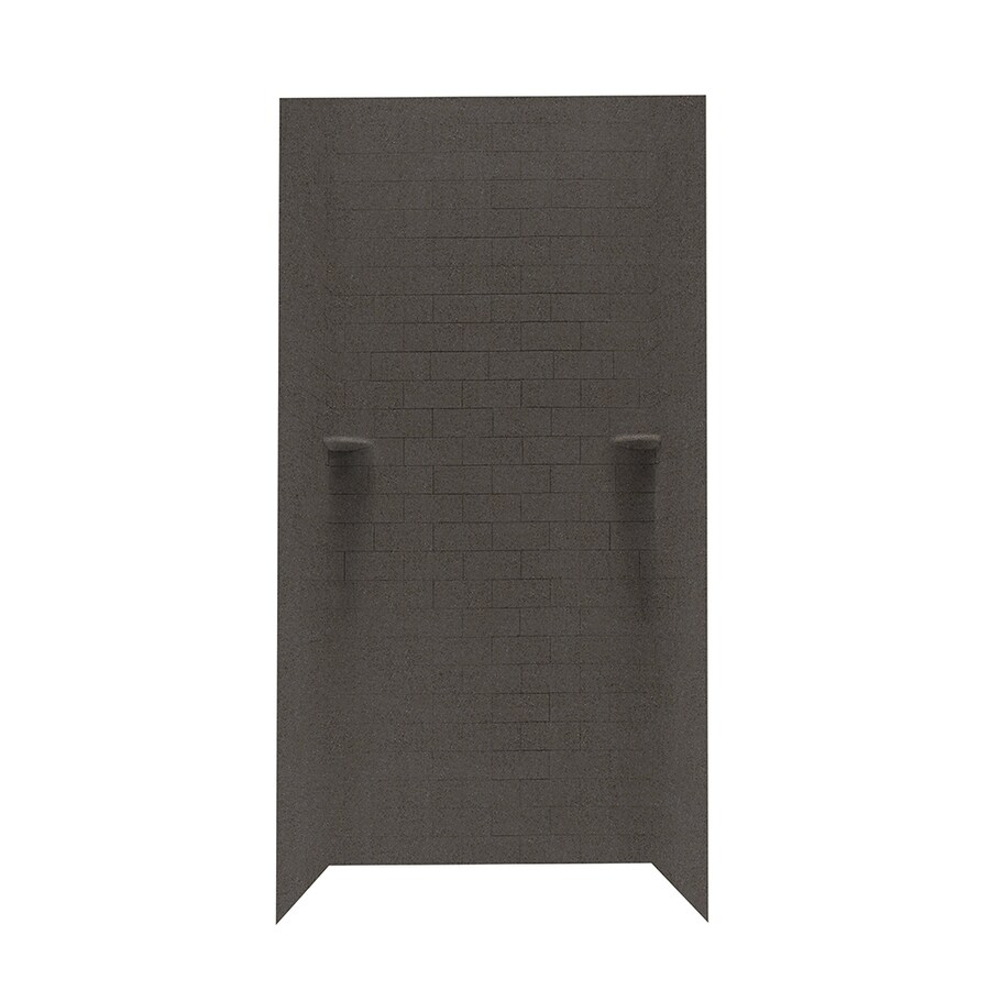 Swanstone Canyon Shower Wall Surround Side and Back Panels (Common: 36-in; Actual: 96-in x 36-in)