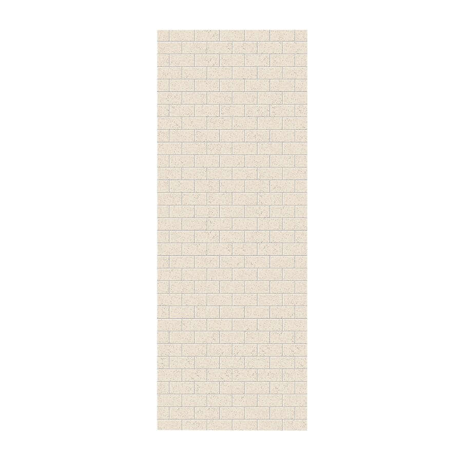 Swanstone Tahiti Desert Shower Wall Surround Side Panel (Common: 0.25-in; Actual: 96-in x 0.25-in)