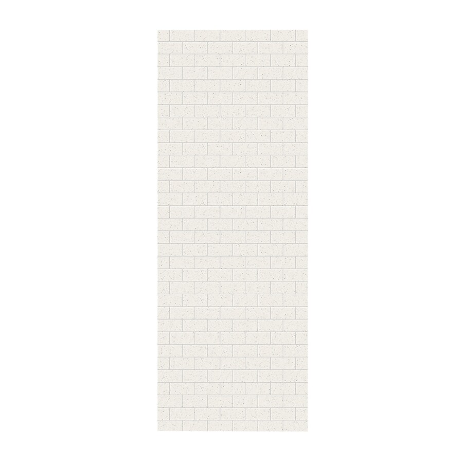 Swanstone Tahiti Matrix Shower Wall Surround Side Panel (Common: 0.25-in; Actual: 96-in x 0.25-in)