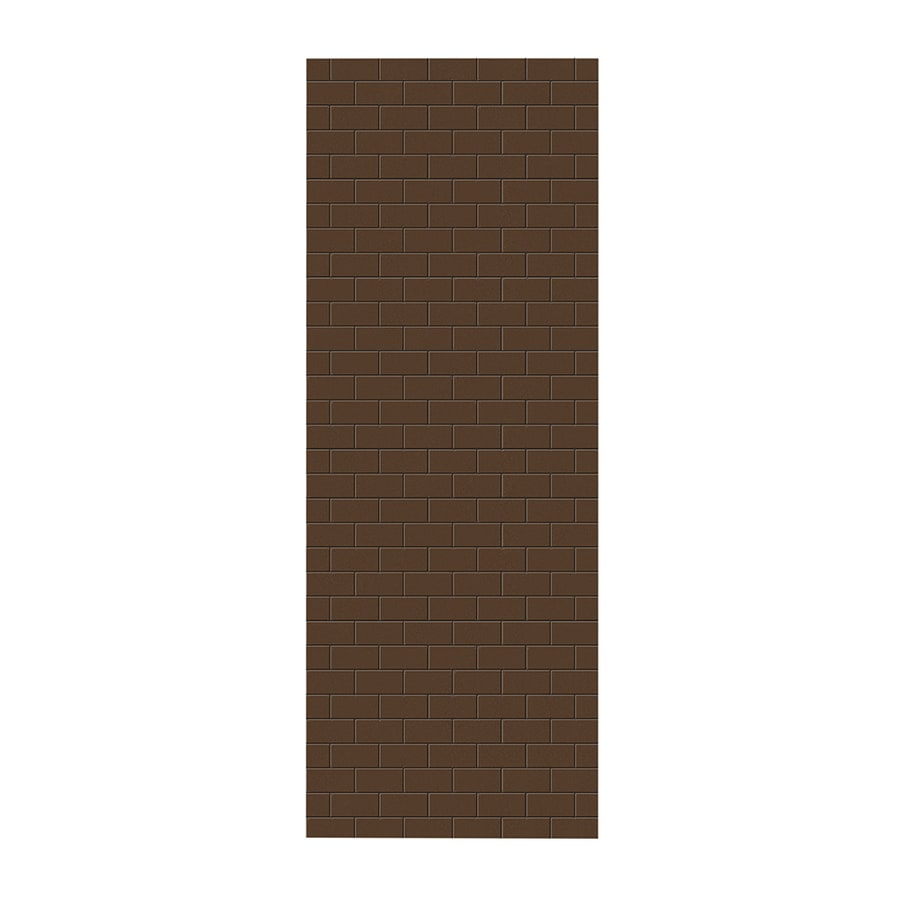 Swanstone Acorn Shower Wall Surround Side Panel (Common: 0.25-in; Actual: 96-in x 0.25-in)