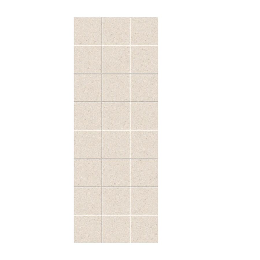 Swanstone Tahiti Sand Shower Wall Surround Side Panel (Common: 0.25-in; Actual: 96-in x 0.25-in)
