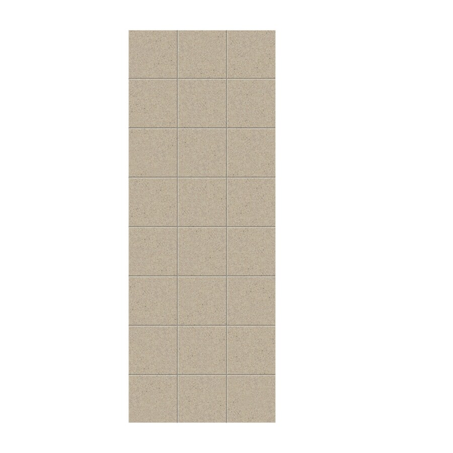 Swanstone Prairie Shower Wall Surround Side Panel (Common: 0.25-in; Actual: 96-in x 0.25-in)