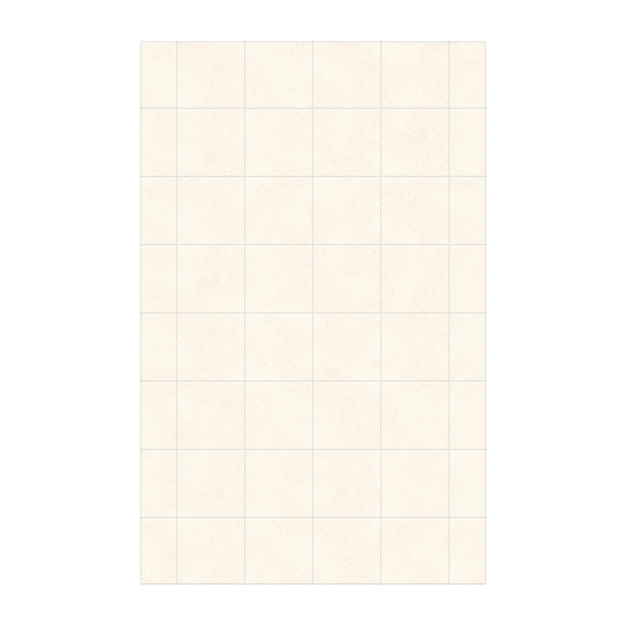Swanstone Pebble Shower Wall Surround Side Panel (Common: 0.25-in; Actual: 96-in x 0.25-in)