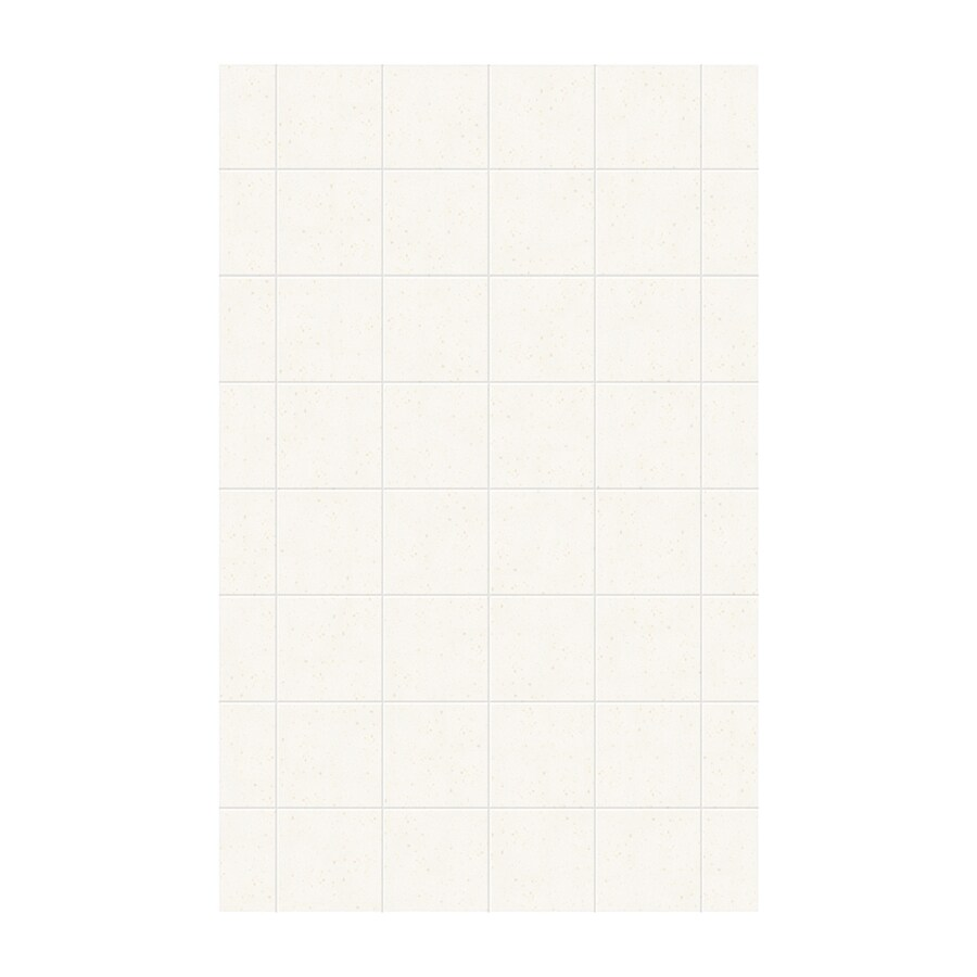 Swanstone Baby's Breath Shower Wall Surround Side Panel (Common: 0.25-in; Actual: 96-in x 0.25-in)