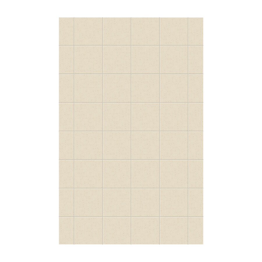Swanstone Caraway Seed Shower Wall Surround Side Panel (Common: 0.25-in; Actual: 96-in x 0.25-in)