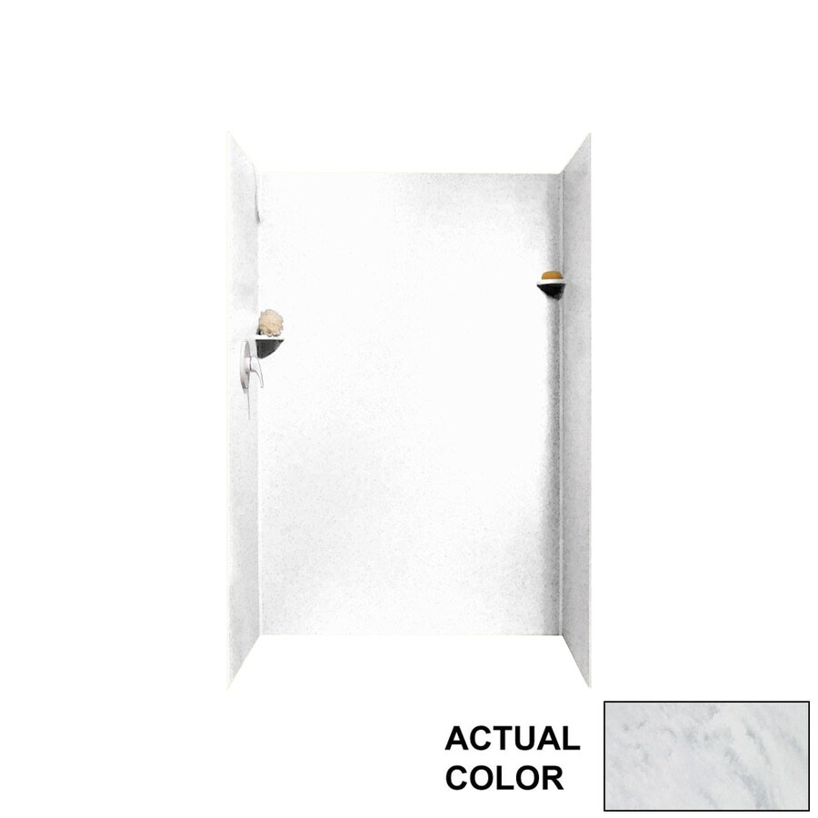 Swanstone Tundra Shower Wall Surround Side and Back Panels (Common: 32-in; Actual: 72-in x 32-in)