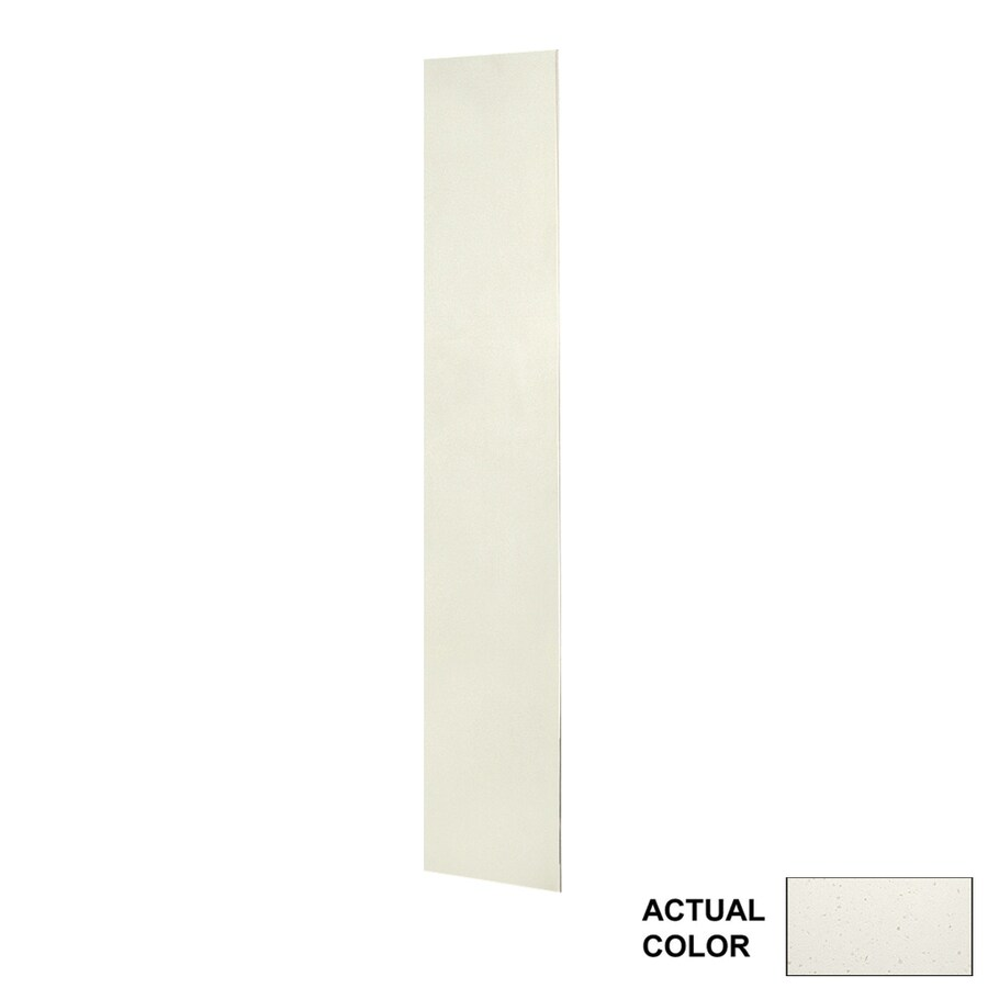 Swanstone Crystal White Shower Wall Surround Back Panel (Common: 0.25-in; Actual: 72-in x 0.25-in)