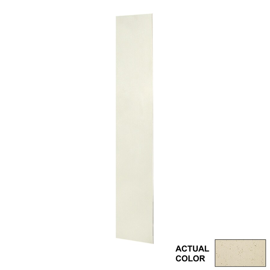 Swanstone Crystal Cream Shower Wall Surround Back Panel (Common: 0.25-in; Actual: 72-in x 0.25-in)