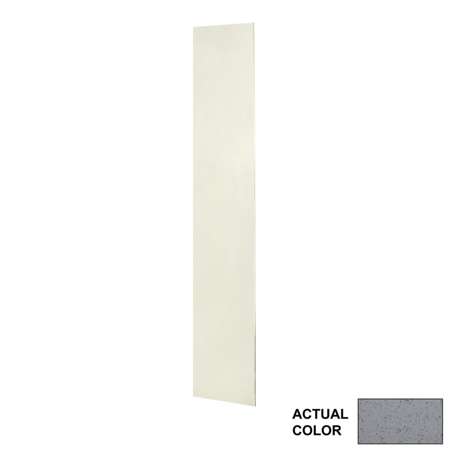 Swanstone Gray Glass Shower Wall Surround Back Panel (Common: 0.25-in; Actual: 72-in x 0.25-in)