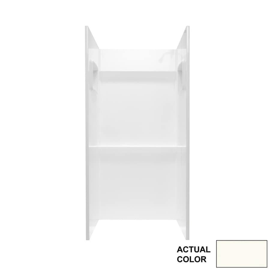 Swanstone Bright White Shower Wall Surround Side and Back Panels (Common: 32-in; Actual: 72-in x 32-in)