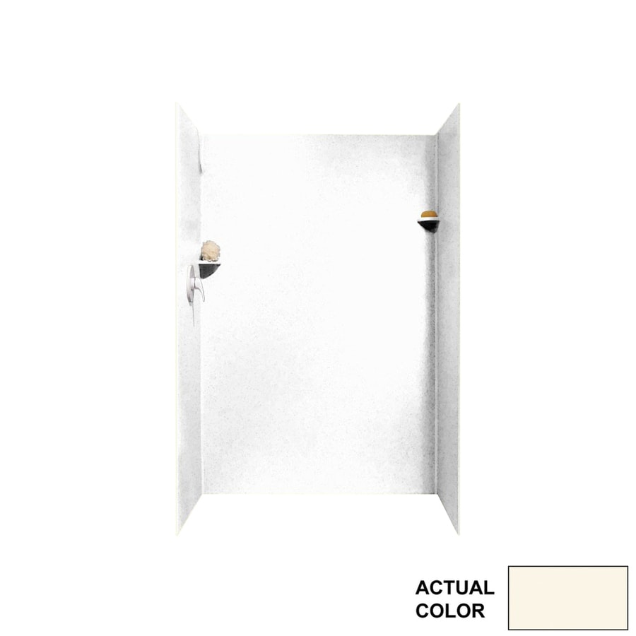Swanstone Pearl Shower Wall Surround Side and Back Panels (Common: 34-in; Actual: 72-in x 34-in)