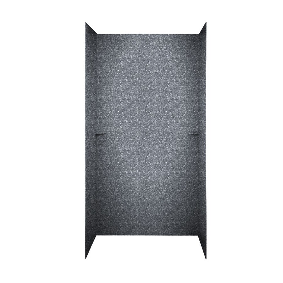 Swanstone Night Sky Shower Wall Surround Side and Back Panels (Common: 48-in; Actual: 72-in x 48-in)