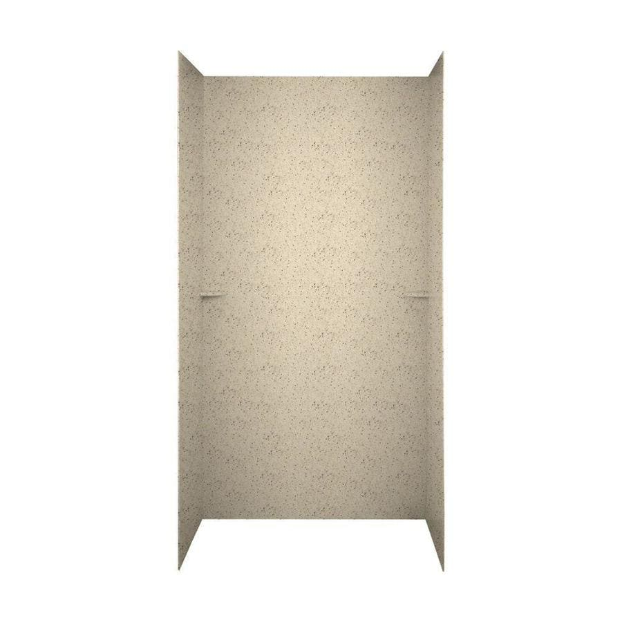Swanstone Tahiti Desert Shower Wall Surround Side and Back Panels (Common: 48-in; Actual: 72-in x 48-in)