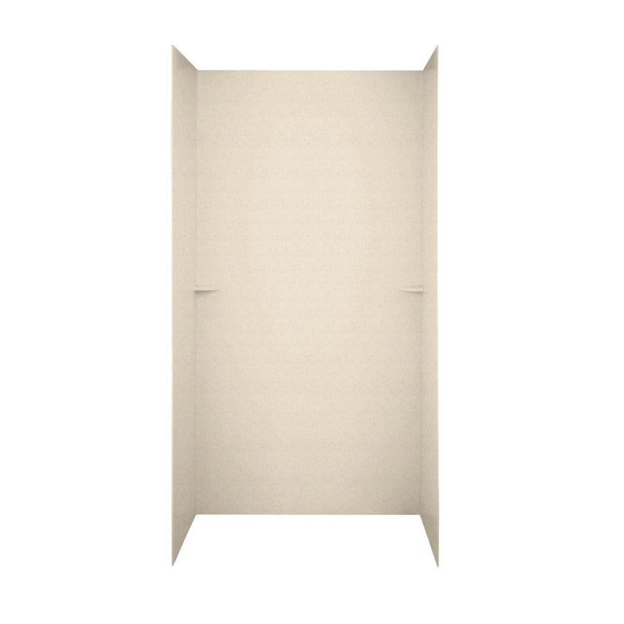 Swanstone Tahiti Sand Shower Wall Surround Side and Back Panels (Common: 48-in; Actual: 72-in x 48-in)