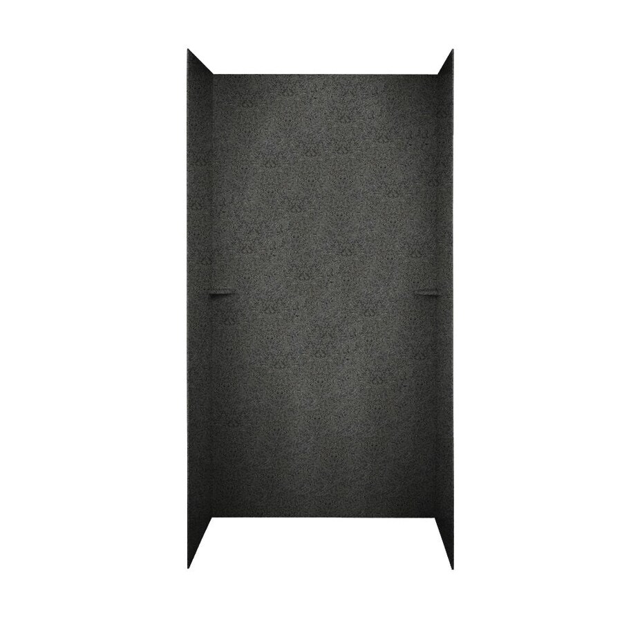 Swanstone Indian Grass Shower Wall Surround Side and Back Panels (Common: 48-in; Actual: 72-in x 48-in)