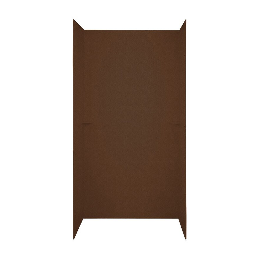 Swanstone Acorn Shower Wall Surround Side and Back Panels (Common: 48-in; Actual: 72-in x 48-in)