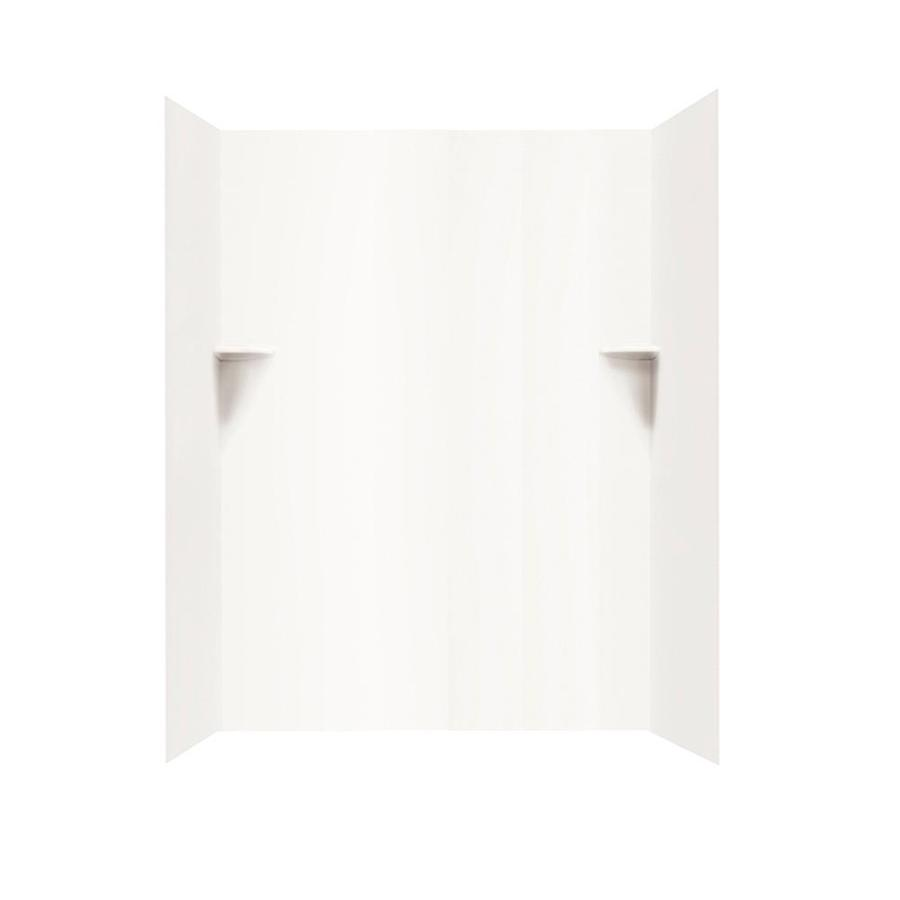 Swanstone White Shower Wall Surround Side and Back Panels (Common: 60-in; Actual: 72-in x 60-in)