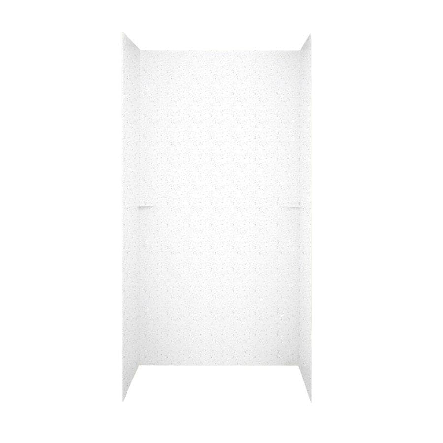 Swanstone Arctic Granite Shower Wall Surround Side and Back Panels (Common: 60-in; Actual: 72-in x 60-in)