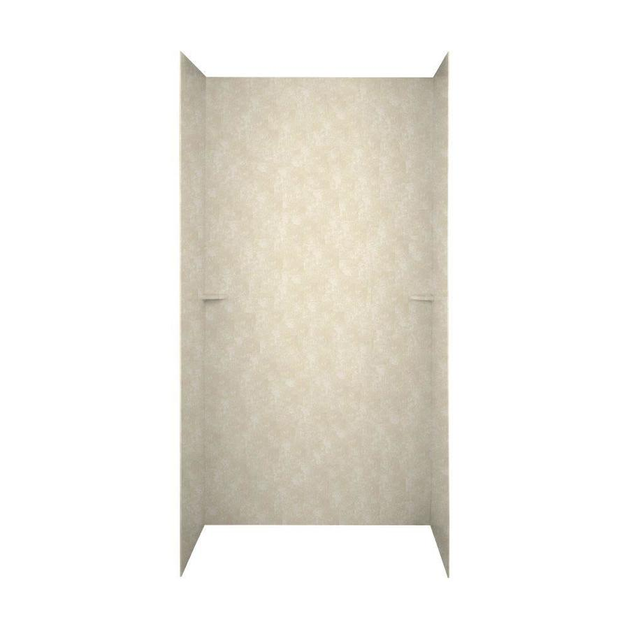 Swanstone Cloud Bone Shower Wall Surround Side and Back Panels (Common: 60-in; Actual: 72-in x 60-in)