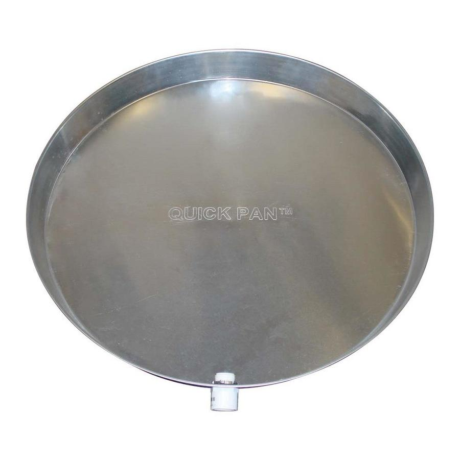 HOLDRITE Quick Pans Water Heater Drain Pans with Fitting