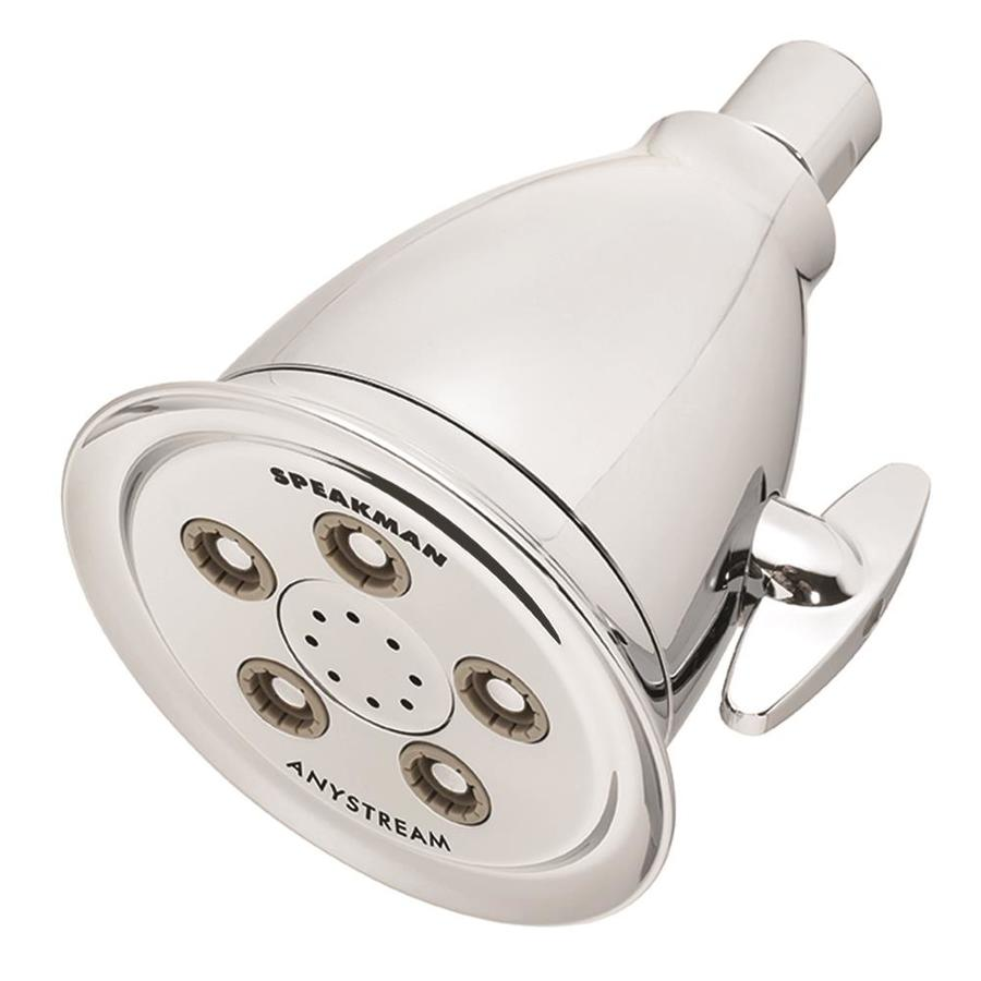 Speakman Anystream 4.09-in 2.5-GPM (9.5-LPM) Polished Chrome 3-Spray Showerhead