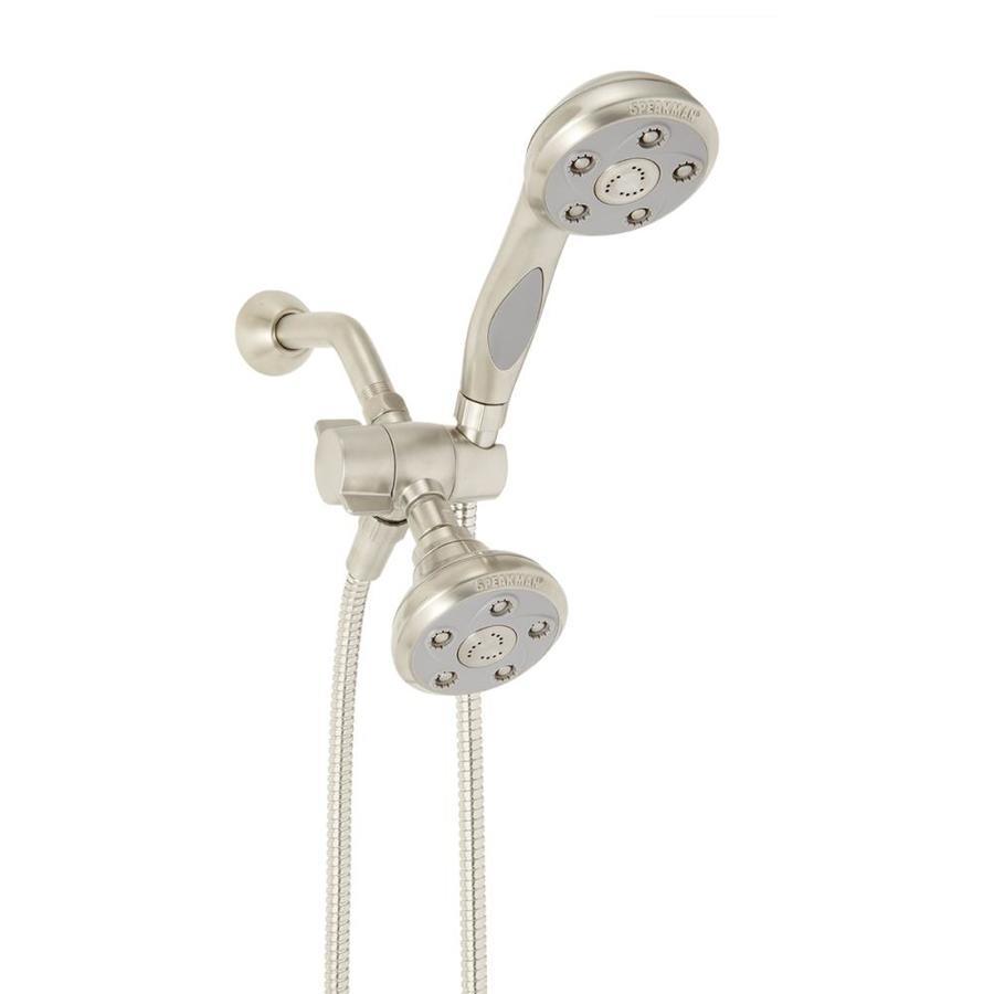 Speakman Napa 3.5-in Brushed Nickel Showerhead with Hand Shower