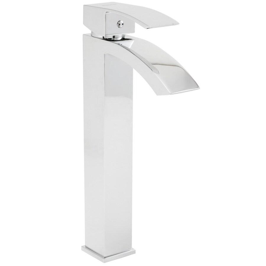 Speakman Holt Polished Chrome 1-Handle Single Hole WaterSense Bathroom Faucet (Drain Included)