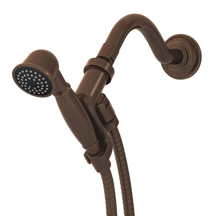 Symmons Winslet 6-in 2.5-GPM (9.5-LPM) Oil Rubbed Bronze 1-Spray Hand Shower